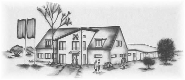 Schuetzenhaus - Zeichnung