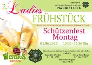 Ladies Frühstück 2015