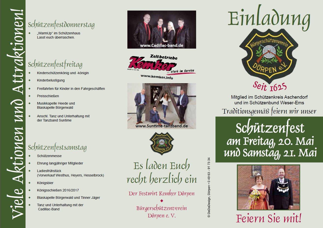 Schützenfest Archive Seite 5 von 7 BSV Dörpen e.V.
