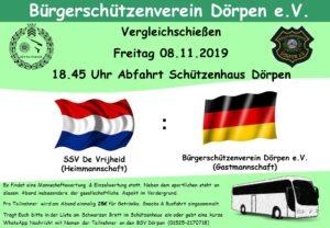 Vergleichsschießen Holland 2019